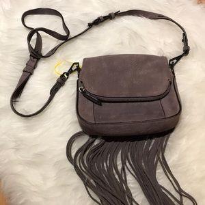 New Rebecca Minkoff Lavender Gun Metal Mini Bag